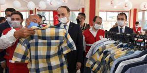 Kızılay, Resulayn'da Sevgi Mağazası açtı