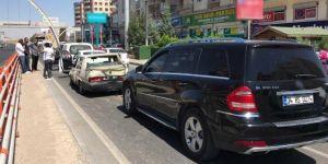 Diyarbakır'da 5 aracın karıştığı zincirleme kazada bir kişi hafif yaralandı