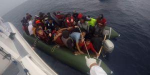 Sahil Güvenlik Komutanlığı: Çanakkale açıklarında 45 düzensiz göçmen kurtarıldı