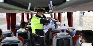 Coronavirus şüphelisi işçiler Van'a gelmeden Bolu'da durduruldular