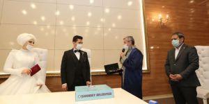 Gaziantep'te nikah törenleri ailelerin talebi olursa canlı yayından izlenebilecek