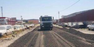 Bağlar Belediyesinin yol çalışmaları sürüyor