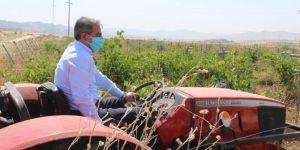 Gercüş İlçe Ziraat Odası Başkanı: Tarım ve gıda silahtan daha değerli