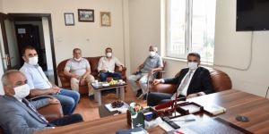 Malatya Valisi Baruş, Oda, Birlik ve Dernekleri Ziyaret etti
