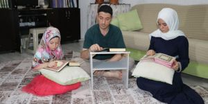 Gaziantep'te evler yaz Kur'an kursuna çevrildi