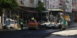 Gaziantep'te yeni açılan yollarda asfalt çalışması yapıldı