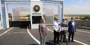 Diyarbakır Valisi Canlı Hayvan Borsasını denetledi