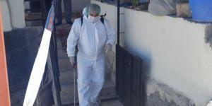 Gaziantep'te 14 evdeki 65 kişi karantinaya alındı