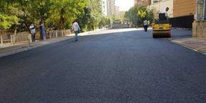 Diyarbakır'da asfaltlama çalışması tamamlanan sokaklar yeni çehresine kavuştu