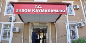 Sason'da 2 ev karantinaya alındı