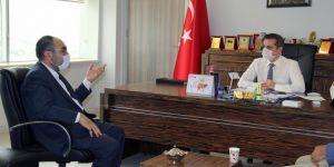 HÜDA PAR Diyarbakır İl Başkanı Aktaş'tan İl Sağlık Müdürü Tekin'e ziyaret