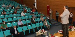 Ağrı İbrahim Çeçen Üniversitesi Rektörü Prof. Dr. Karabulut basın mensuplarıyla bir araya geldi