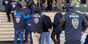 Malatya'da haklarında yakalama kararı bulunan 61 kişi gözaltına alındı