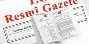 Yeni atama kararları Resmî Gazete'de yayımlandı