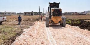 Viranşehir Belediyesinden yol çalışması