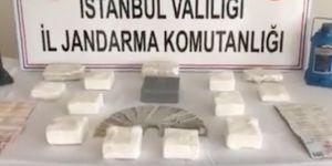 İstanbul'da yüklü miktarda uyuşturucu ele geçirildi, olayla ilgili 4 kişi yakalandı
