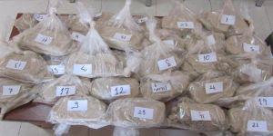 Kapıkule Gümrük Kapısı'nda yüklü miktarda uyuşturucu ele geçirildi