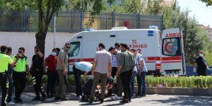 Diyarbakır'da trafik polisi kaza yaptı: 1 yaralı