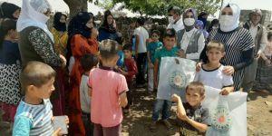 Diyarbakır'da bayram öncesi çocuklar sevindirildi