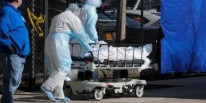 ABD'de son 24 saatte 877 kişi Coronavirus nedeniyle öldü