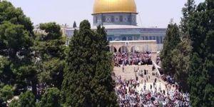 Filistinli yöneticilerden tüm Müslümanlara Mescidi Aksa'ya gitme çağrısı