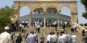 İslami Hareket: Arefe günü Mescidi Aksa'nın avlusunu doldurun