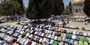 Hamas: Arefe gününde Mescid-i Aksa meydanında olalım