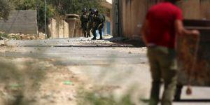 Siyonist işgalcilerin Kefer Kaddum yürüyüşüne saldırılarında 7 kişi yaralandı