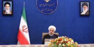 """İran Cumhurbaşkanı Ruhani: """"10 eyalet pik noktasını aştı"""""""