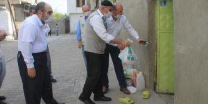 Yasin Börü ve arkadaşlarının şehit edildiği mahallede kurban eti dağıtıldı