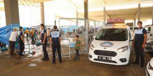 Diyarbakır Büyükşehir Belediyesi ekipleri kurban kesim yerlerini denetledi