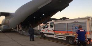 Türkiye'den gönderilen yardımlar Lübnan'a ulaştı