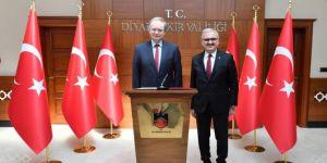 AB Türkiye Delegasyonu Başkanı Büyükelçi Berger Diyarbakır'da