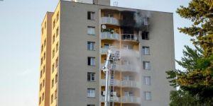 Çekya'da apartmanda yangın: 11 ölü