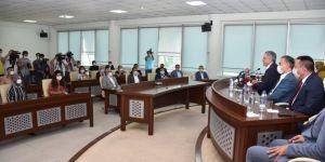 Bağlar Belediyesinin hizmetleri ve projeleri masaya yatırıldı