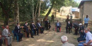 Gürpınar'da arazi anlaşmazlığıyla başlayan husumet barışla sonuçlandı