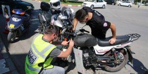 İçişleri Bakanlığı'ndan eş zamanlı motosiklet operasyonu