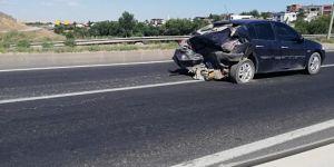 Diyarbakır Çarıklı'da trafik kazası: 1'i çocuk 3 kişi yaralandı