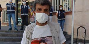 Evlat nöbetindeki baba: Oğlumun kimliği HDP il binasında bulundu
