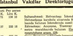 CHP bir günde 6 cami satmış