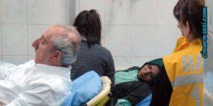 Star Gazetesi yazarları Mardin'de kaza geçirdi