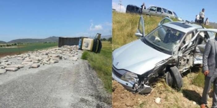 HÜDA PAR konvoyu kaza yaptı: 7 yaralı