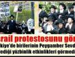 CNN İsrail protestosunu görmemiş!