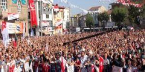 Konya'da büyük Mısır mitingi