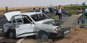 Kızıltepe Viranşehir yolunda kaza: 1 ölü 4 yaralı