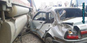Diyarbakır'da araç trenin altında kaldı