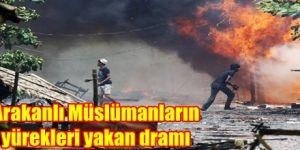 Arakanlı Müslümanların yürekleri yakan dramı