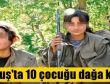 PKK Muş Bulanık'ta 10 çocuğu dağa kaçırdı