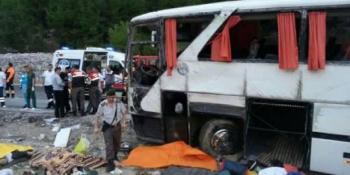 Antalya'da Trafik kazası: 13 ölü Video