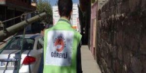 Çınar şefkat der 500 aileye kurban eti dağıttı